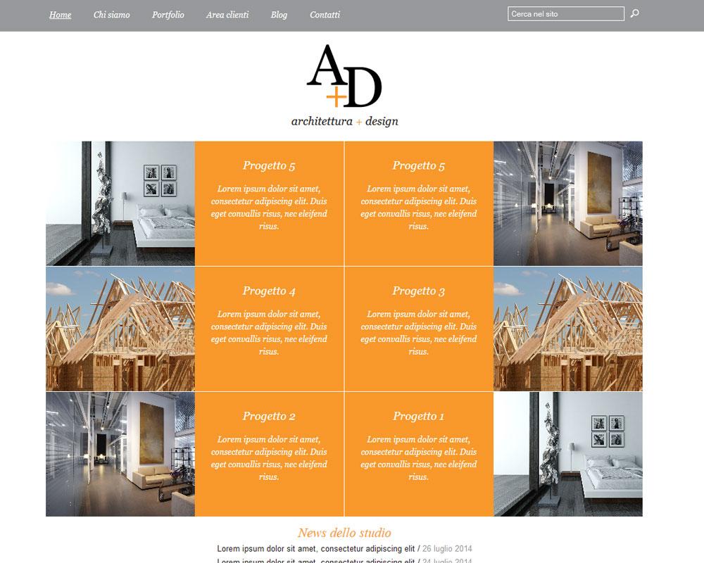 Siti web architetti idee di design per la casa for Sito per architetti